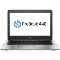 HP laptop: ProBook 440 G4 - Zwart, Zilver
