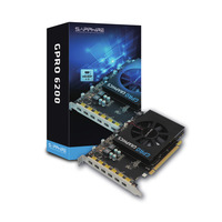 Sapphire GPRO 6200 Videokaart