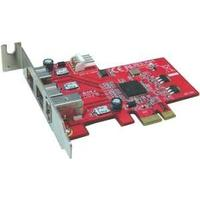 LyCOM interfaceadapter: 1394B & 1394a Combo 3Ports Low Profile PCI Express Host Adapter