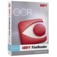 ABBYY software licentie: FineReader 12 Professional - ESD, EDU/Non-Profit, EN/DE/RU, 11-25, Mac