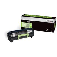 Lexmark cartridge: 502 - Zwart