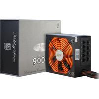 Inter-Tech power supply unit: Coba Nitrox Nobility CN-900 NS - Zwart, Oranje