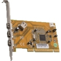 Dawicontrol interfaceadapter: DC-1394 PCI