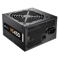 Corsair power supply unit: VS450 - Zwart