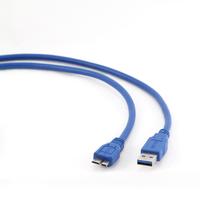Gembird USB kabel: USB 3.0 AM naar Micro BM kabel, 1.8m - Blauw