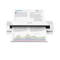 Brother scanner: Mobiele scanner - 7.5 ppm - dubbelzijdig - geleverd met professioneel software pakket - Wit