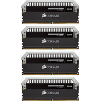 Corsair memory D4 2400 64GB C14 Corsair Dom K4 4x1GB,1,2V, Dominator Platinum (CMD64GX4M4A2400C14)