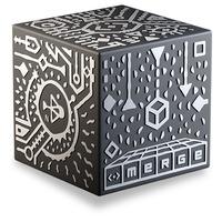 Merge Cube - Zwart, Wit