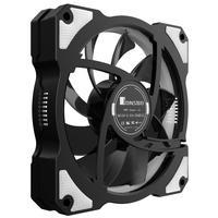 Jonsbo Hardware koeling: FR101W, 120 mm, 1200 U/min, 3.6 Watt, 25.4 dBA - Zwart, Wit