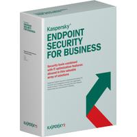 Kaspersky Lab software: Endpoint Security f/Business - Select, 10-14u, 3Y, GOV