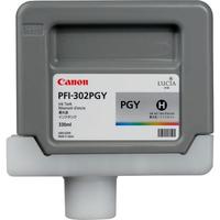 Canon inktcartridge: PFI-302PGY - Foto grijs