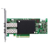 DELL netwerkkaart: Emulex LPE-16002 Host Bus Adapter - Groen, Zilver
