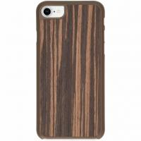 IMoshion product: Bruin Wood Snap On Cover iPhone 8 / 7 - Bruin hout design