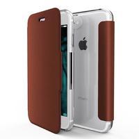 X-Doria mobile phone case: Engage Folio - Bruin, Transparant