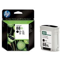 HP inktcartridge: 88XL originele zwarte inktcartridge