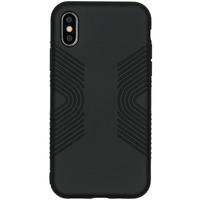 Impact Grip Backcover iPhone X / Xs - Zwart - Zwart / Black Mobile phone case