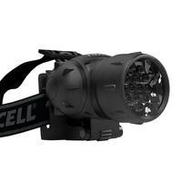 PSA Parts zaklantaarn: Explorer Headlamp Torch with 19 LED's - Zwart
