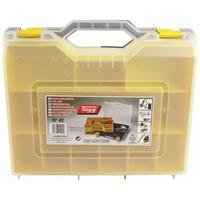 Tayg : Case f/ Manual Tools, PP, Base Green, Cover Transparent, Tray Yellow - Groen, Transparant, Geel