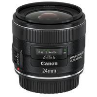 Canon camera lens: EF 24mm f/2.8 IS USM