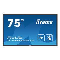 Iiyama public display: ProLite TE7568MIS-B1AG - Zwart