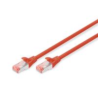 Digitus netwerkkabel: Cat6 S-FTP 10m - Rood