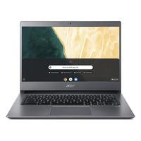 "Acer Chromebook CB714-1WT-52QC 14"" i5 8GB RAM 128GB SSD - QWERTY Laptop - Grijs"