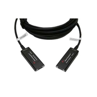Opticis DisplayPort extender. Lengte: 20. Eenh. 1 stk - Zwart
