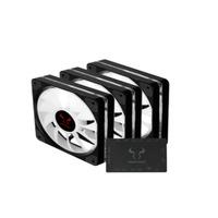 Riotoro Quiet Storm Hardware koeling - Zwart,Wit