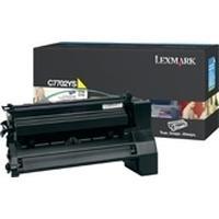 Lexmark cartridge: C77x, X772e 6K gele printcartridge - Geel