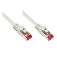 Wentronic netwerkkabel: Cat6a S/FTP 1m