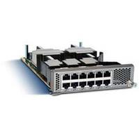 Cisco netwerk switch module: 12-port 10G BASE-T Ethernet Module, Spare