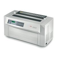 OKI dot matrix-printer: ML4410