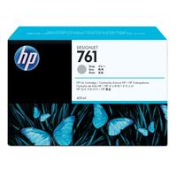 HP inktcartridge: 761 grijze DesignJet inktcartridge, 400 ml - Grijs
