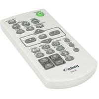 Canon afstandsbediening: Remote Controller for LV-8320 Multimedia Projectors - Grijs, Wit