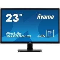 """Iiyama monitor: ProLite 23"""" monitor met een IPS panel en ultra vlakke voorkant - Zwart"""