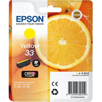 Epson inktcartridge: 33 Y - Geel