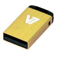 V7 USB NANO STICK 16GB YELLOW USB 2.0