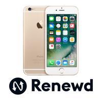 Renewd smartphone: iPhone Apple iPhone 6 refurbished - 128GB Goud (Refurbished AN)