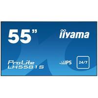"Iiyama public display: ProLite 139.7 cm (55 "") (138.8 cm) LED, 1920 x 1080, 6.5ms, 450cd/m2, 4000:1, DVI-D, HDMI, LAN - ....."