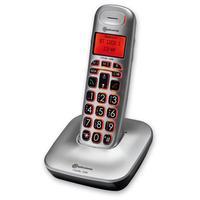 Amplicomms BigTel 1200 dect telefoon - Zwart, Zilver
