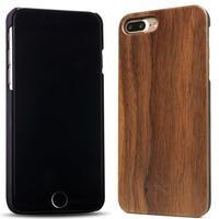 Woodcessories ECO001 Mobile phone case - Zwart, Walnoot