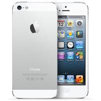 Apple smartphone: iPhone 5 64GB Wit Refurbished - Zilver, Wit