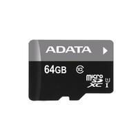 ADATA flashgeheugen: Micro SDXC 64GB - Zwart