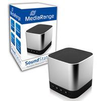 MediaRange draagbare luidspreker: MR732 - 3W, 90Hz - 20kHz, Bluetooth, Lithium 600mAh, Grey - Grijs