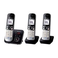 Panasonic dect telefoon: KX-TG6823 - Zwart, Zilver