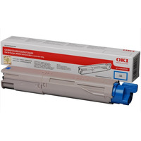 Cyan Toner Cartridge 2500p. for OKI C3300n/C3400n/C3450/C3600
