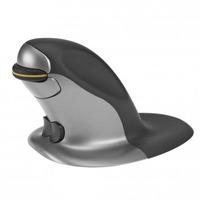 Posturite Penguin computermuis - Zwart, Zilver
