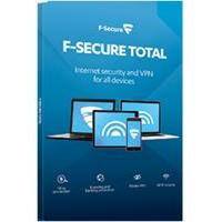 "F-SECURE product: Total Security "" Privacy 3-Devices 1 year"