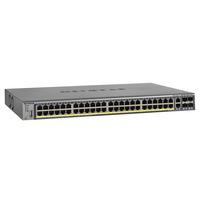 Netgear switch: M4100-50G-POE+ - Grijs