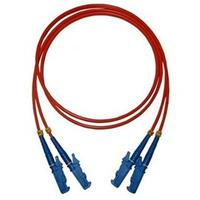 Microconnect fiber optic kabel: E2000-E2000, MM, 4m